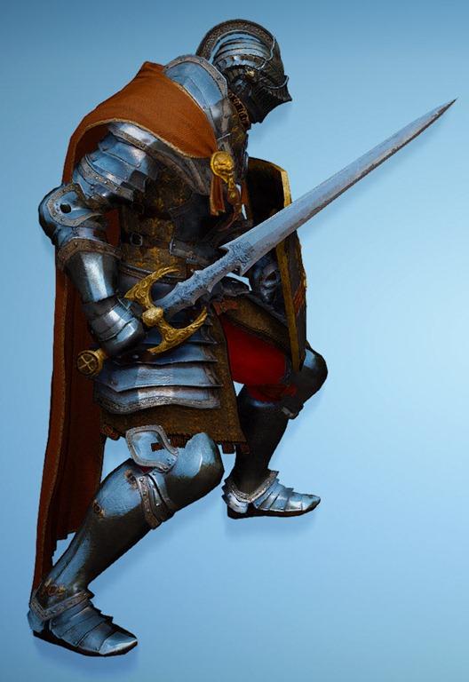BDO Fashion | [Warrior] Bern (Black Desert Online)