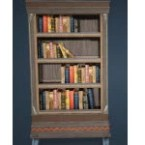 Khuruto Style Bookshelf