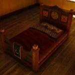 Mediahn Handcrafted Bed