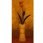 Yellow Tulip Pot