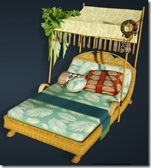Palm Tree Bed