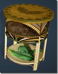 Palm Tree Bedside Table