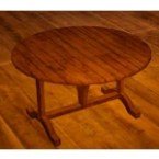 Two-legged Dining Table