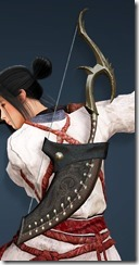 Acher Guard Horn Bow Drawn Maehwa