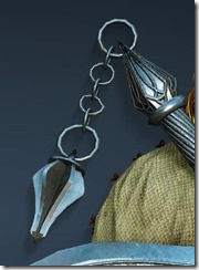 Acher Guard Ornamental Knot Stowed