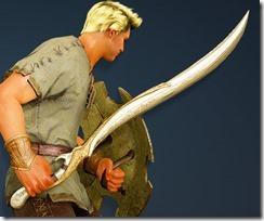 Cantusa Longsword Warrior Drawn