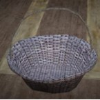 Straw Basket with Handles