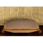 White Sheep Hide Cushion