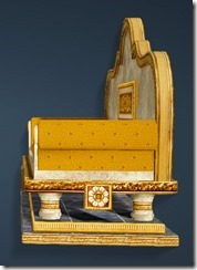 Calpheon Marble and Gold Sofa Side