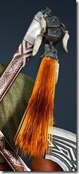 Khaled Ornamental Knot Stowed
