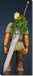 Treant Camouflage Great Sword Stowed