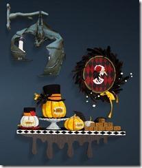 Halloween Wall Decor Set Front
