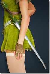 Treant Camouflage Elven Sword Stowed