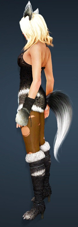 BDO Fashion | [Sorceress] Gloomy Fox (Black Desert Online)