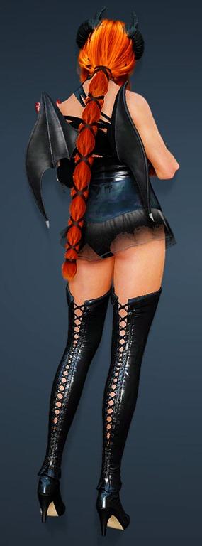 Black Desert Online Kunoichi Ram Horn Witch Bdo Fashion