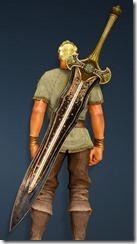 Bolyn Great Sword Stowed