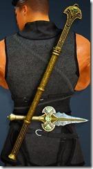 Bolyn Short Sword Stowed