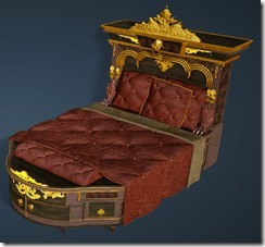 Kzarka Decorated Bed