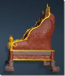Kzarka Decorated Chair Side