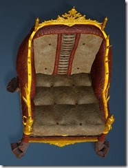 Kzarka Decorated Chair Top