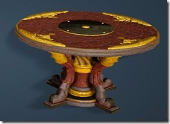 Kzarka Decorated Table