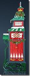 Christmas Decorated Wardrobe Side