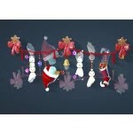 Christmas Snowman Wall Decoration
