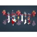 Christmas Snowman Wall Decoration