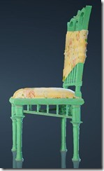 Spring Flower Chair Side