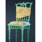 Spring Flower Chair