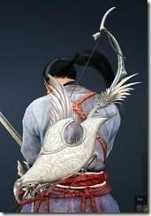 Crown Eagle - MU Horn Bow Drawn