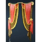 Margoria Whale Tab Drapeless Curtain
