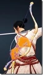 Peach Blossom Horn Bow Drawn
