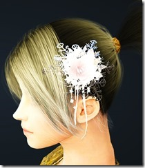 Snow Flower Hair Ornament