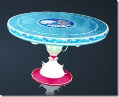 Coral Dining Table Front