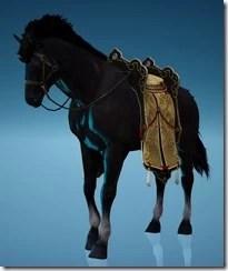 Dragon Scale Saddle