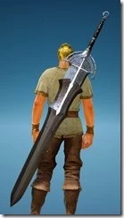 Warrior Millen Fedora Greatsword Stowed