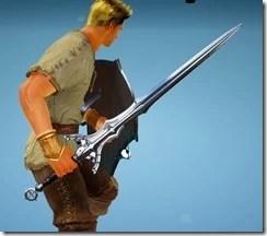 Warrior Millen Fedora Longsword Drawn