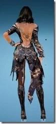 Sorceress Dahlia Nocturna Durability Rear