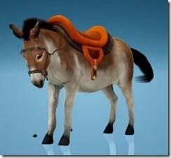 Donkey Wild Carrot Saddle