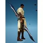 [Hashashin] White Viper of Bahrahit Dual Glaives
