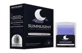 Sumnusent Melatonin Oral Strip Sleep Aid