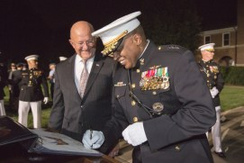 Mr. Clapper and General Stewart