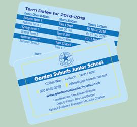 Term Date Cards