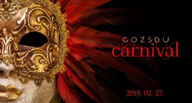 Álarcos farsangi salsa karnevál a Gozsdu Udvarban