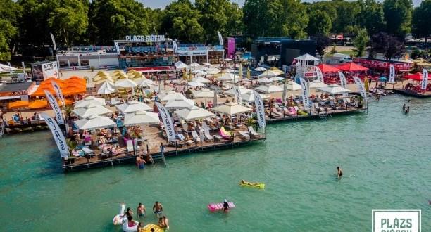 A PLÁZS már készen áll a nyárra – ezekre az előadókra bulizhatunk idén a Balatonnál