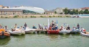 Budapest Urban Games: idén ötszázan ússzák át a Dunát