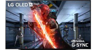 NVIDIA G-SYNC támogatást kapnak az LG 2019-es OLED televíziói