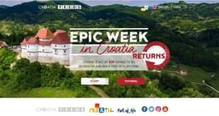 Horvátországi álomutazását tölti az Epic Week hazai nyertes