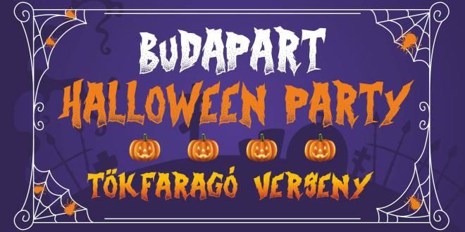 Tök jó BudaParti – Halloween a Kopaszi-gáton